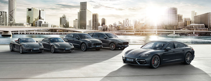 Porsche models - take them for a test drive